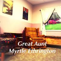 Great Aunt Myrtle Ethrington