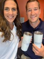 Melissa and Nate Wiechmann, owners of PCSF Chiropractic
