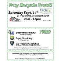 Recycle Event - United Methodist Church