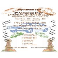Troy Harvest Fest 1st Annual Car Show