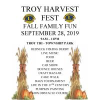 Troy harvest Fest Fall Family Fun