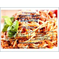 Spaghetti Dinner & Raffle to Support Beacon of Life