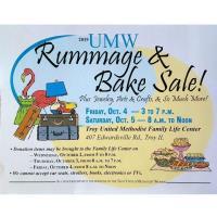 UMW Rummage and Bake Sale