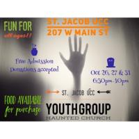 Youth Group Haunted Church