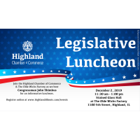 Highland Chamber of Commerce Legislative Luncheon
