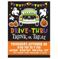 Drive-Thru Trunk or Treat