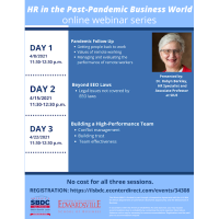 HR in the Post-Pandemic Business World