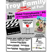 Troy Family Year of Fun Movie Night