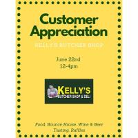 Kelly's Butcher Shop Customer Appreciation Event