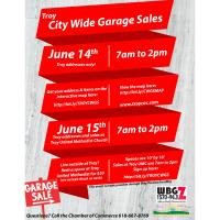 City Wide Garage Sale - United Methodist Church