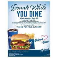 Dine for a cause at Culver's in Collinsville
