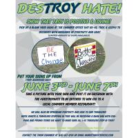 Stop Hate City of Troy - Spread Positivity