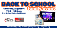 Back to School Family Event