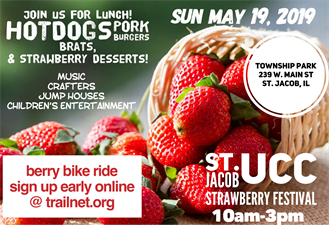Troy Strawberry Festival 2020.St Jacob United Church Of Christ 35th Annual Strawberry