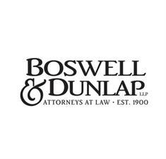 Boswell & Dunlap LLP