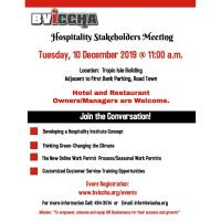 Hospitality Stakeholder Meeting