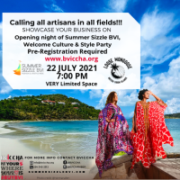 BVICCHA and Summer Sizzle BVI Join in Support of VI Businesses