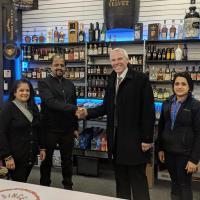 Grand Opening Ribbon Cutting of Mr. Wine & Liquor Batavia