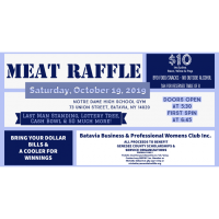 Batavia Business & Professional Womes Club Meat Raffle