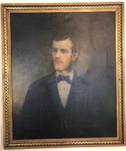 Wedding Portrait of Reverend James Augustus Dubuar