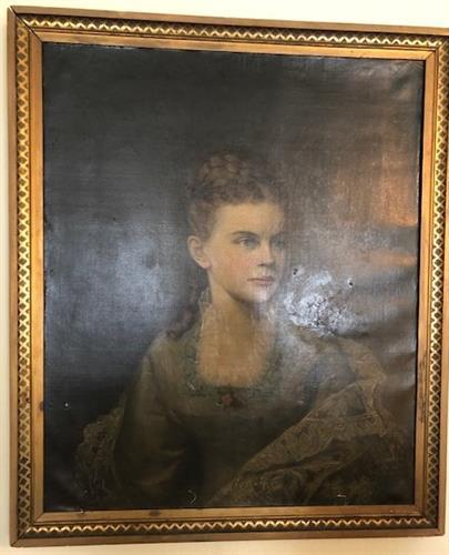 Wedding Portrait of Camilla A. Swift Dubuar