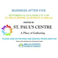 Business After 5 Hosted by St. Paul's Centre