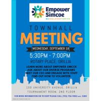 Empower Simcoe Town Hall Meeting