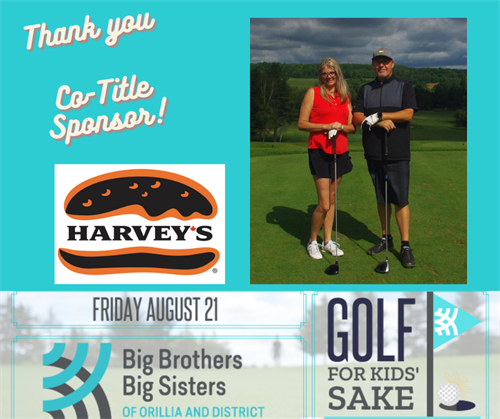 Co-Title Sponsor of  Annual Golf for Kids' Sake event