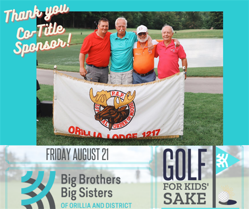 Co-title sponsor of the annual Golf For Kids' Sake event