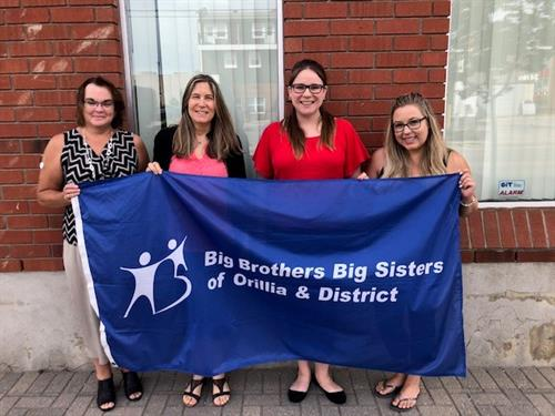 Big Brothers Big Sisters of Orillia and District gets Brand New Team 2019