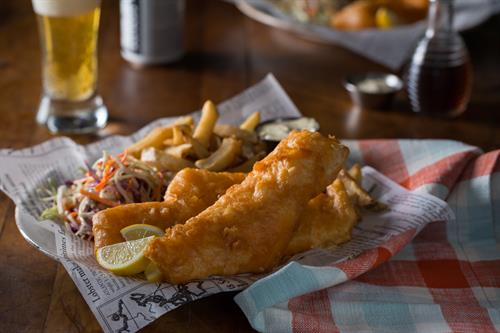 Try our Famous Fish & Chips - Wednesday Special for $11.75