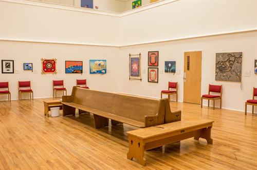 Visit our Reconcilation Gallery to see images of Truth and Reconciliation from local artists, Mon to Thurs 8 am to 4 pm