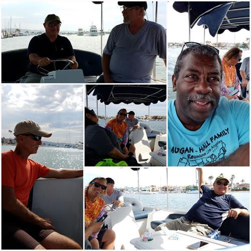 Duffy Boat Ride with Friends - Newport Beach Harbor, CA