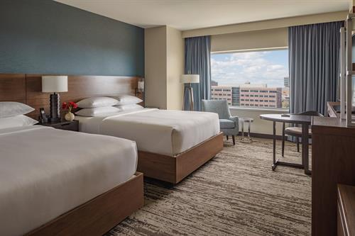 Guest Room with (2) Queen beds