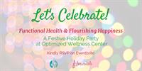 Optimized Wellness Center Community Holiday Party - Join Us!
