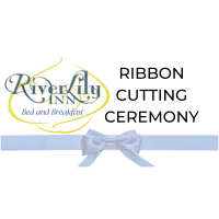 Ribbon Cutting  -  River Lily Inn