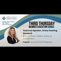 Third Thursday Education Series: Secrets of a Serial Entrepreneur