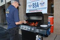 BBQ at Scout Show in Sierra Vista