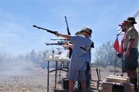 shooting black powder at a camporee