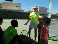Volunteer Tennis instructors