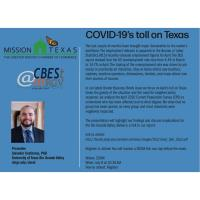Webinar with Dr. Contreras: COVID-19's toll on Texas