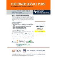 SBDC: Customer Service Plus!