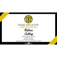 Ribbon Cutting Ceremony: Gold's Gym-Mission