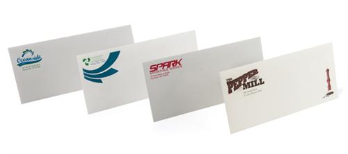 Envelopes  in full color and black/white