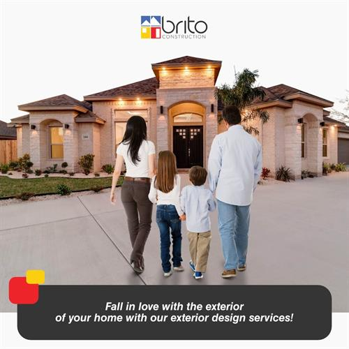 Fall in love with the exterior of your home with our exterior design services! It's time to enhance the exterior of your home with Brito Construction. Make a great first impression with our exterior design ideas. You are just a call away to get the perfect home exterior designs. www.britoconstruction.com ??