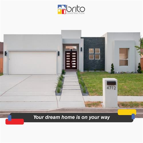 Your dream home is on your way. ??? We offer an incredible array of home concept and floor plans. To find your home click here: www.britoconstruction.com/properties ??