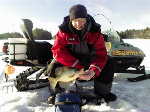 Ice Fishing Tackle and Guided Trips