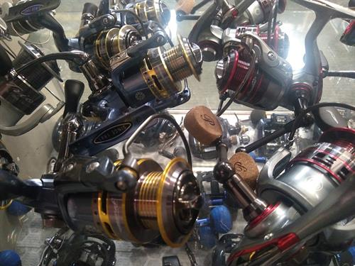 Spinning, Casting and Spincast reels. Ul to Musky sized