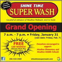 Ribbon Cutting Ceremony - Shine Time Super Wash