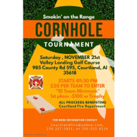 "Smokin"" on the Range Cornhole Tournament"